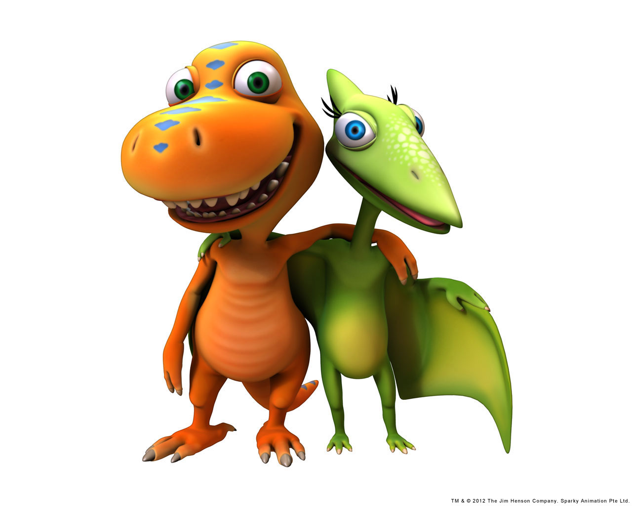 Download wallpapers dinosaur traindinosaur train